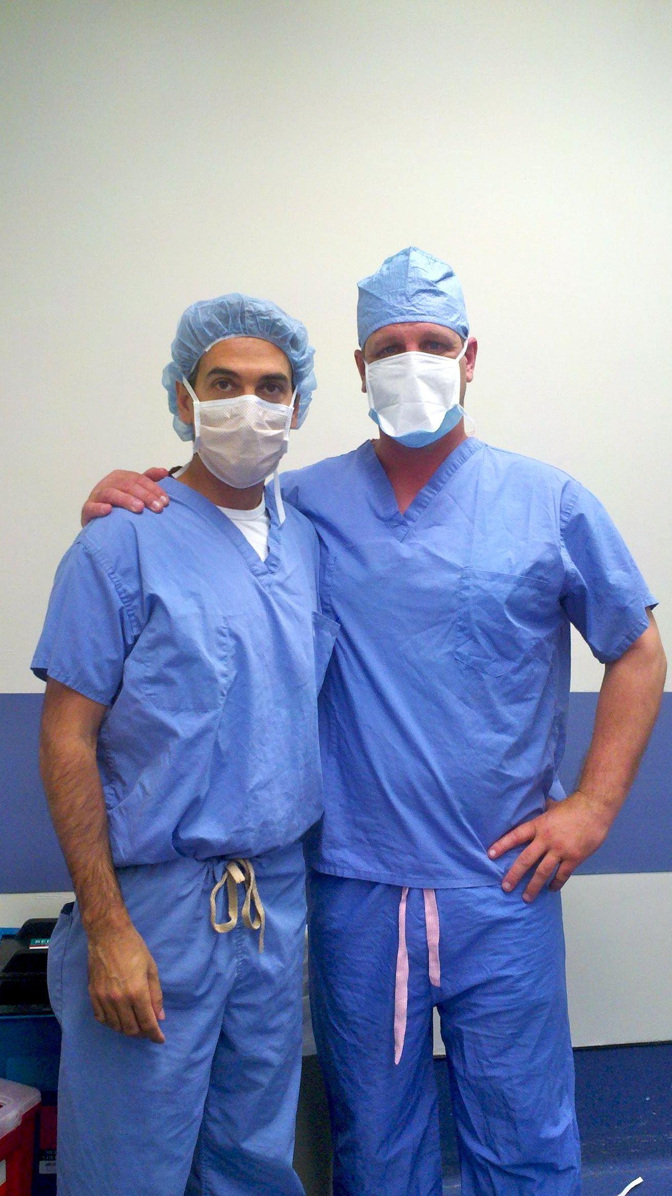 BHN Founder Steve Hayward with BHN Orthopedic Surgeon and