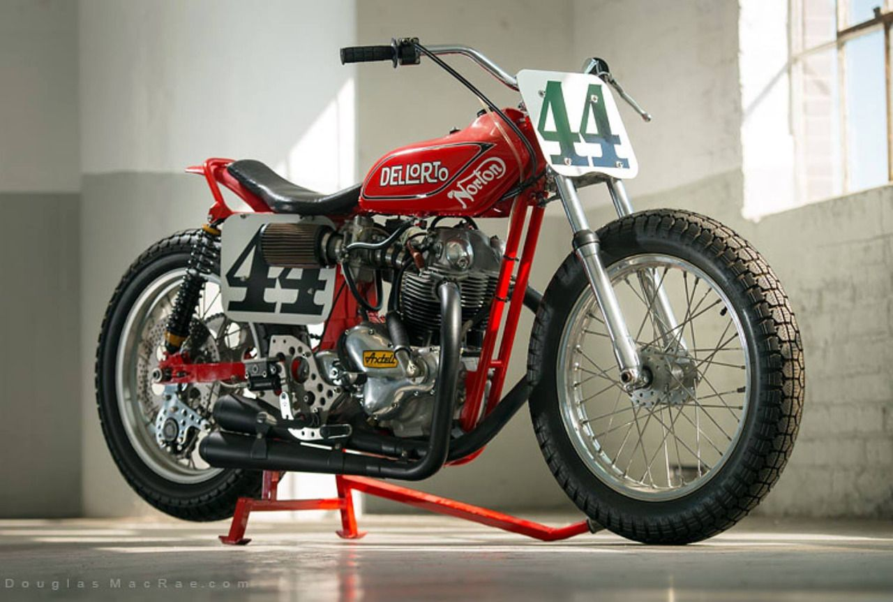 vonsontag Another Ron Wood Norton Flat tracker, Car and