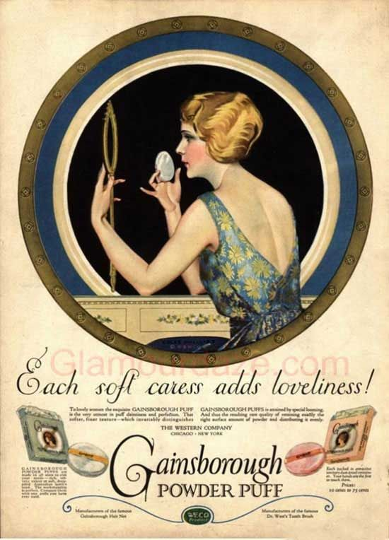 The History Of 1920s Makeup House Project Stuff Pinterest - 1920s-makeup-ads