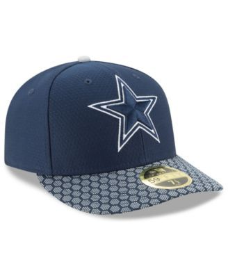 check out 87ddb d8e22 New Era Dallas Cowboys Sideline Low Profile 59FIFTY Fitted Cap - Blue 8
