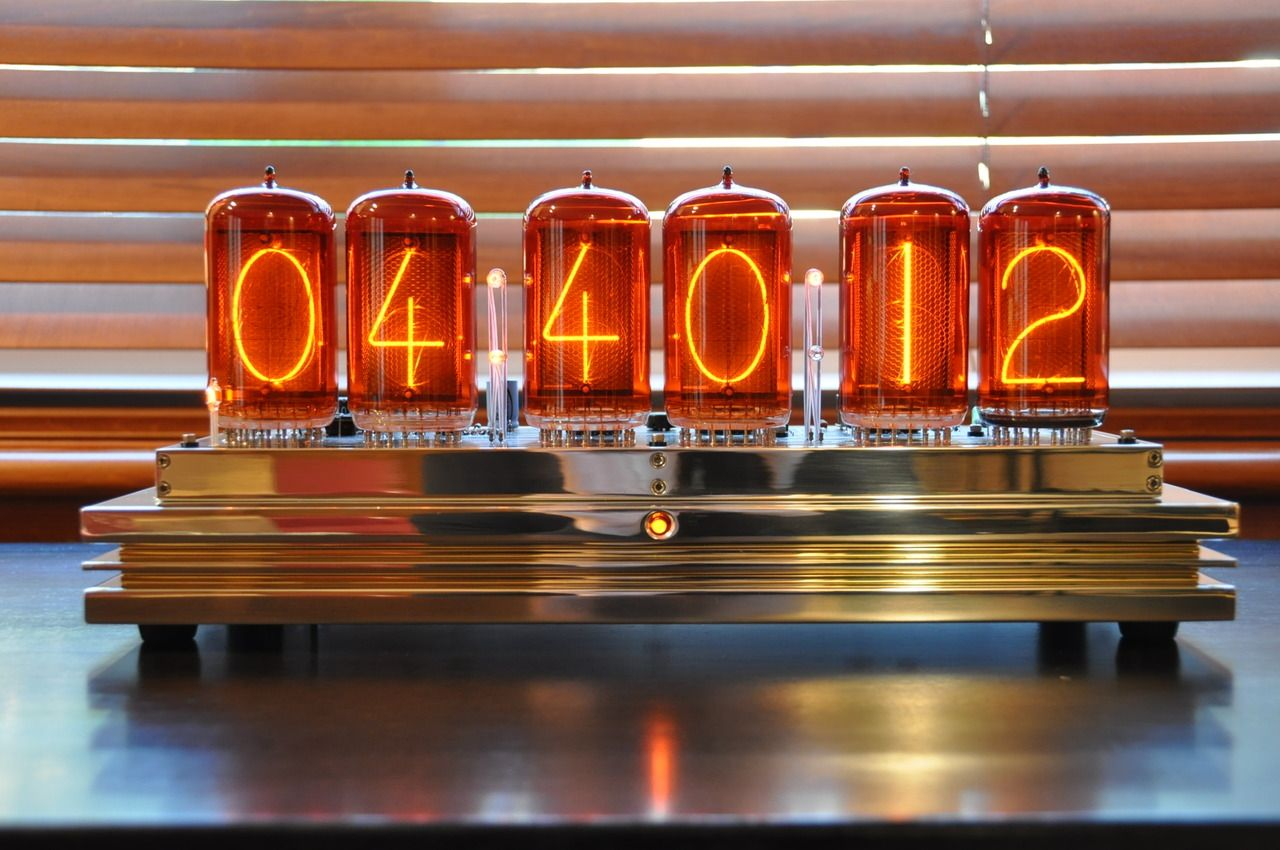 Atomic Nixie Tube Clock By Michael Barile
