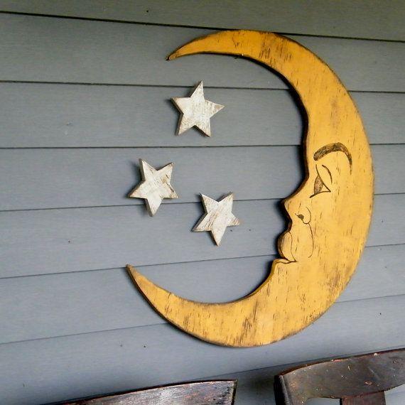 Nursery Decor Crescent Moon Lunar