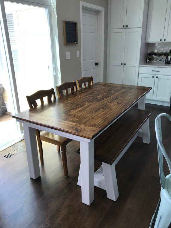 Farmhouse Table House En 2019 Table Salle à Manger