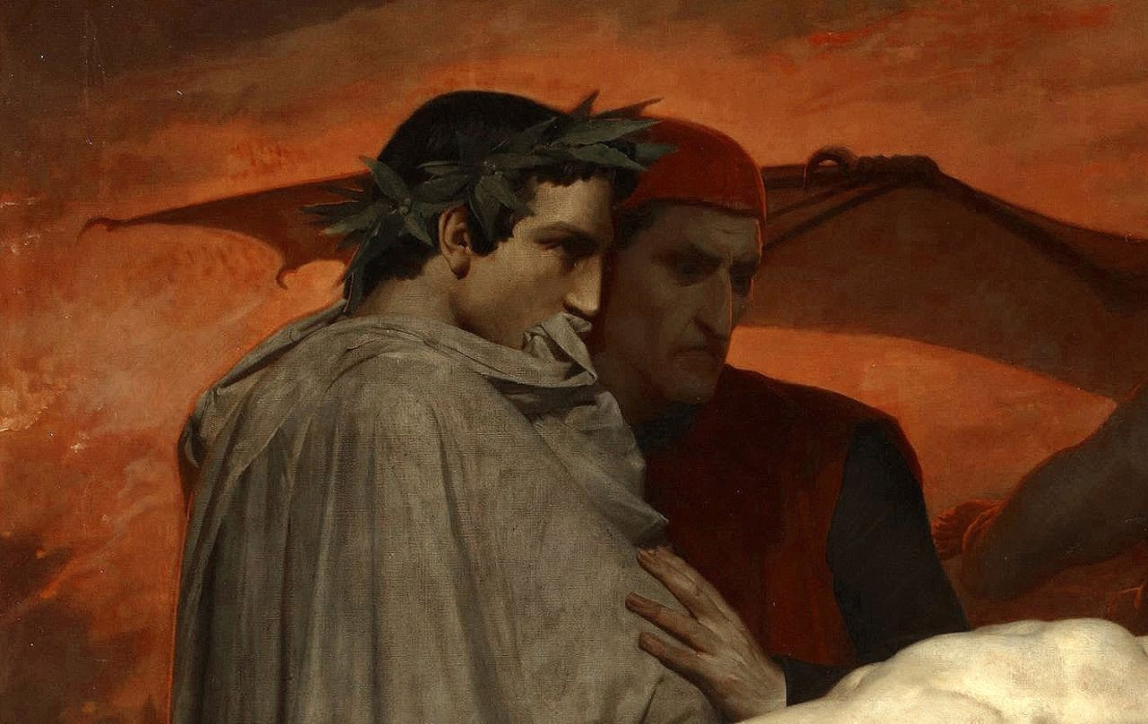 Question Dante and virgil in hell with you