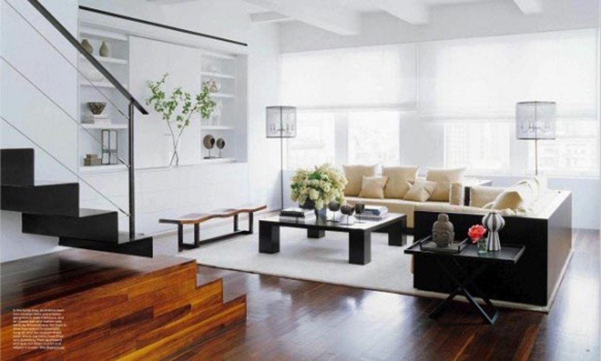 Mesmerizing Open Apartment Living Room Concept Idea With Square Shaped Sofa And Cof Modern Living Room Inspiration Living Room Decor Modern Living Room Designs