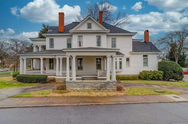 1908 neoclassical in gainesville captivating