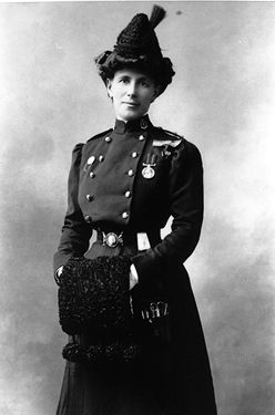 Georgina Pope, military personnel, WWI nurse