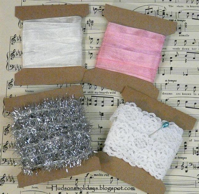 Hudson's Holidays - Designer Shirley Hudson: Ribbon spools- organize trims now!