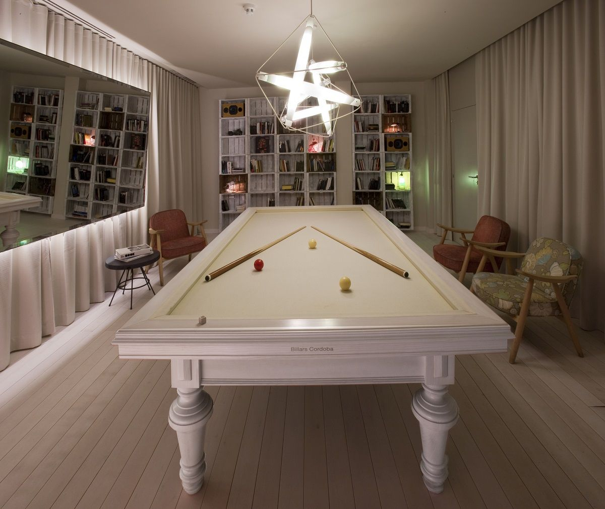 Pretty, But I Would Prefer Turquoise Felt Or Pink! Love This Pool Table. I  Found It As I Was Wondering Whether They Made A More Feminine Type Pool  Table And ...
