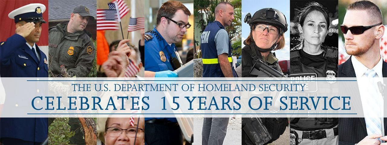 DHS 15th Anniversary Homeland security, Cyber security