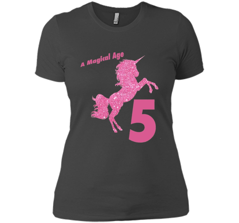 Kids th birthday unicorn gift tshirt for year old girls