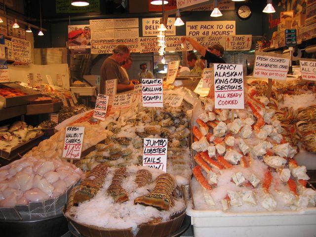 Seattle Fish Market Fish Market Seattle Washington Seattle Washington Fish