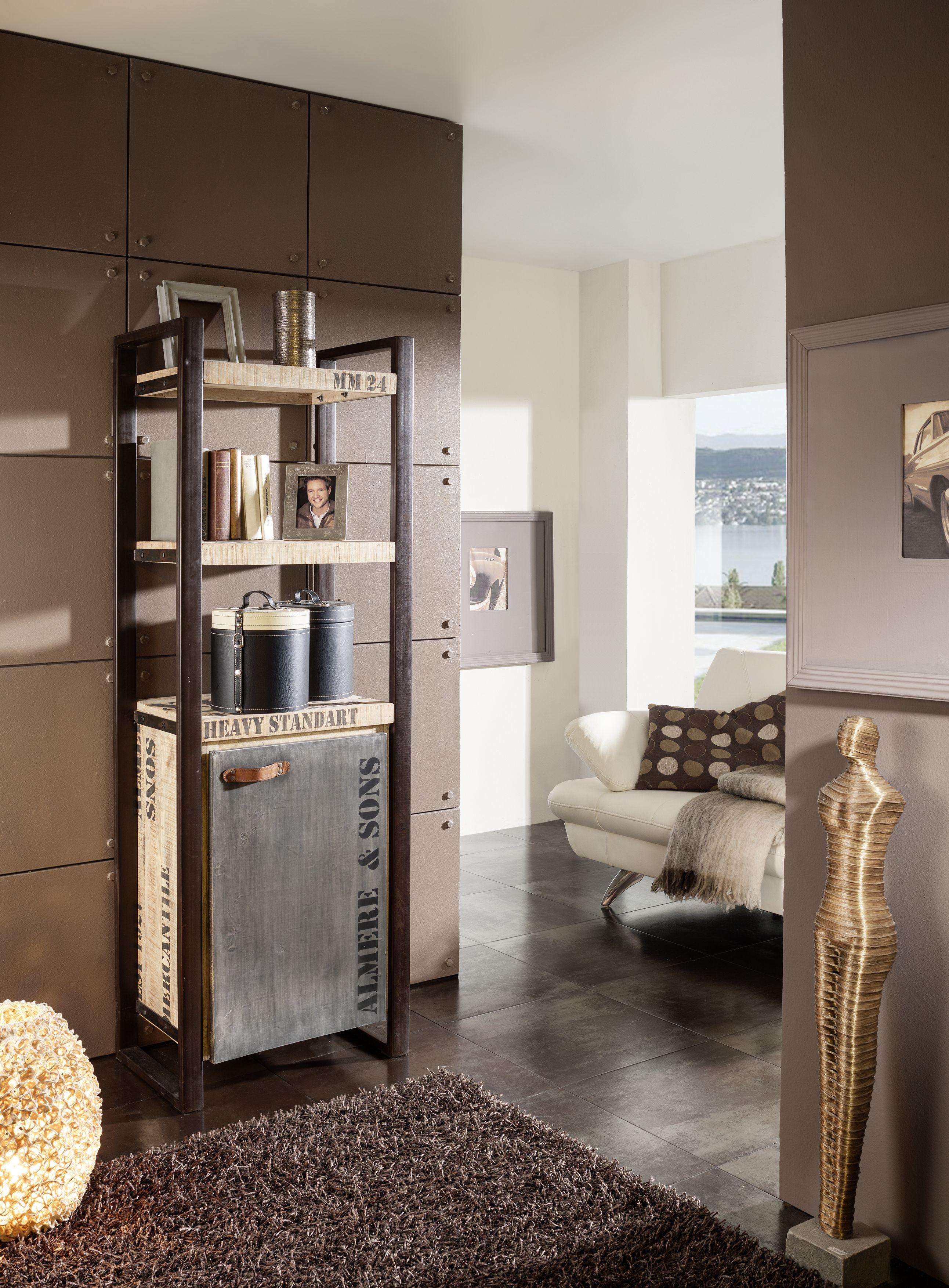 Bezaubernd Industrial Look Möbel Das Beste Von Cooles Design Aus Mangoholz Und Eisen: Die