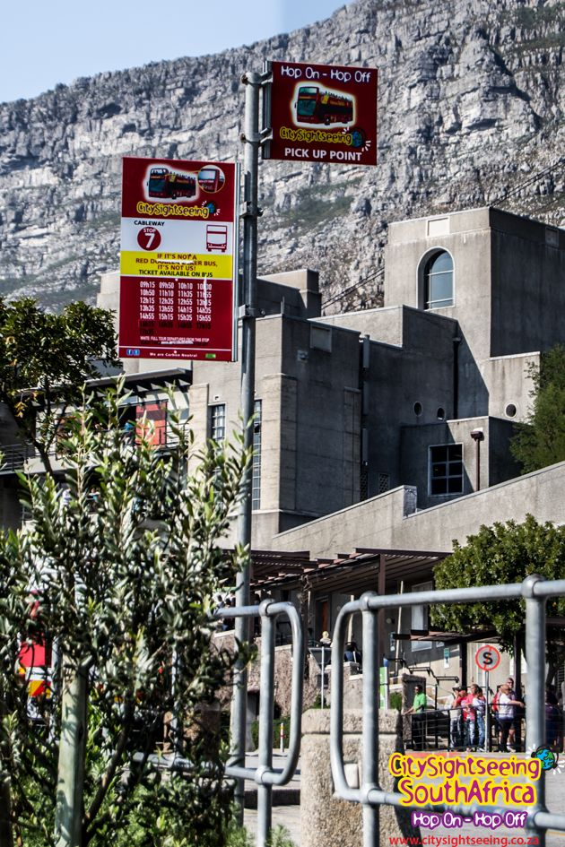 Table Mountain is Stop 7 on our Red City Tour.  http://www.citysightseeing.co.za/table-mountain-cape-town