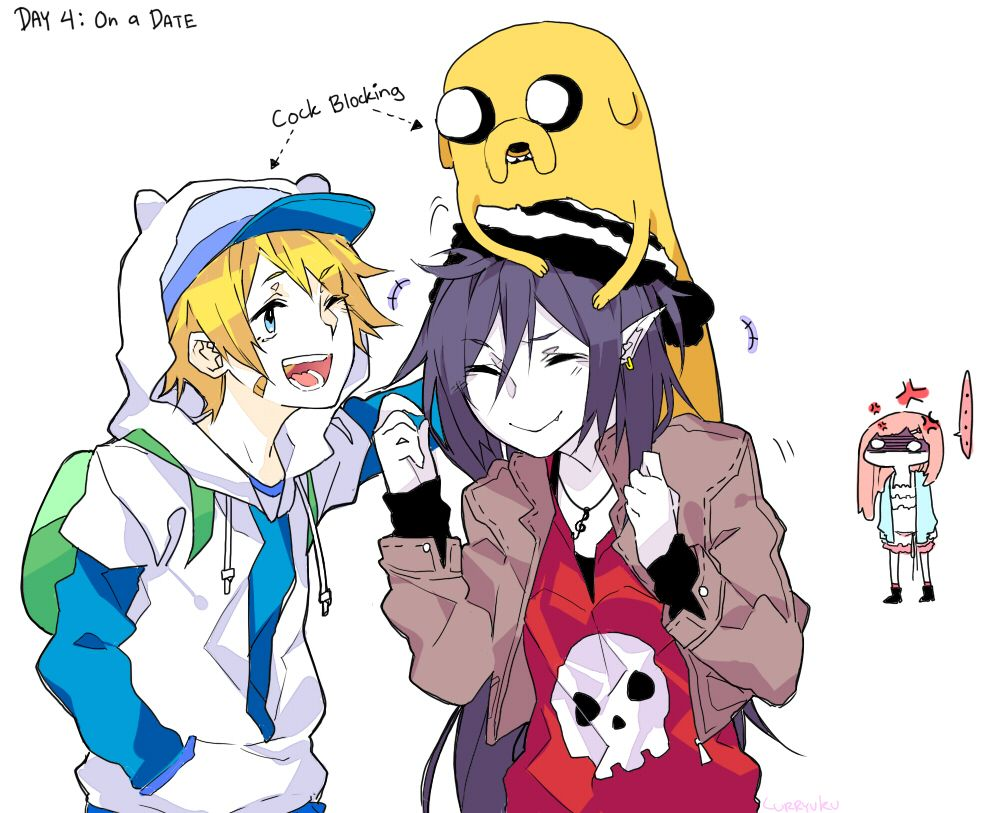 Tags: Fanart, Curryuku, Adventure Time, Marceline Abadeer ...