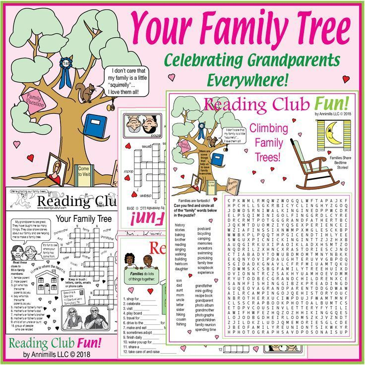 Your Family Tree Grandparents Day Genealogy Back To School