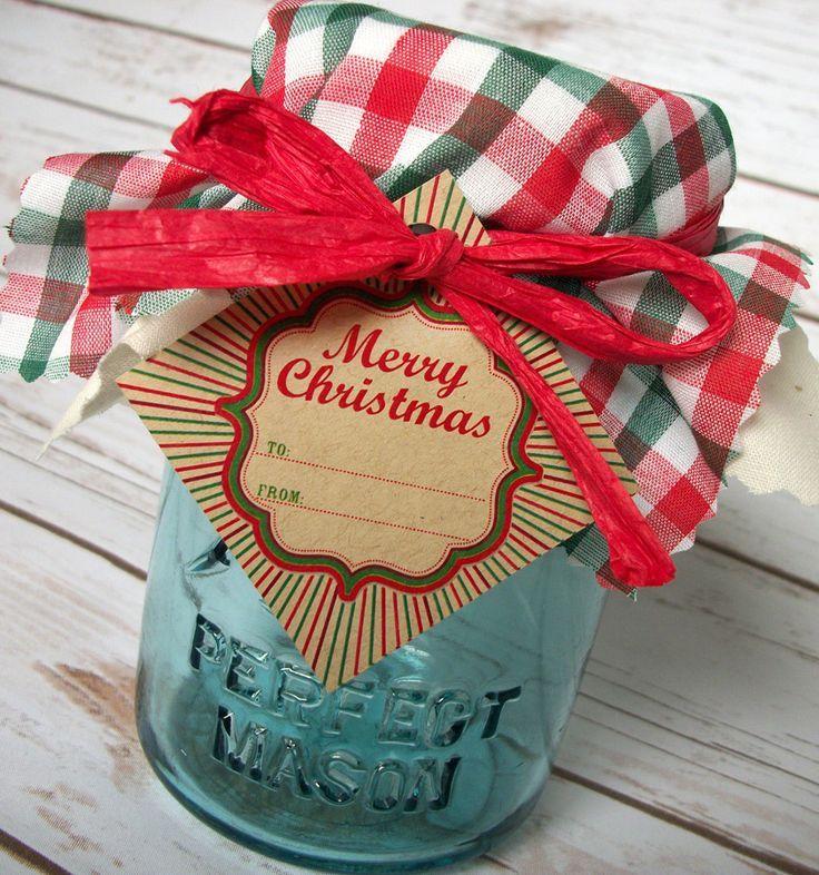 Retro Christmas Jam Jar Decoration Set Mason Jar Diy Mason Jar Crafts Christmas Mason Jars
