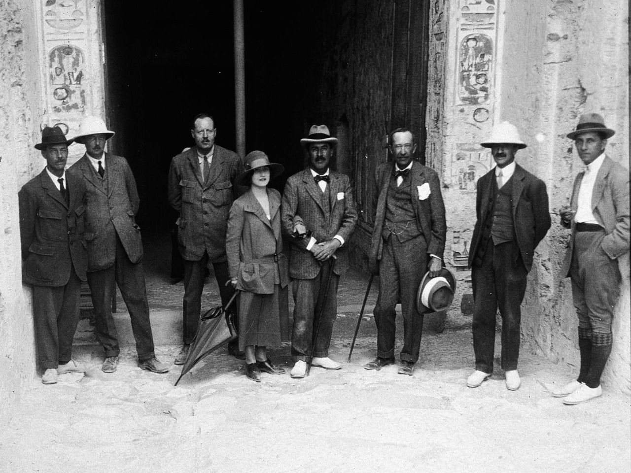 The Curse Of King Tuts Tomb Torrent: November 4, 1922: Entrance To King Tut's Tomb Discovered