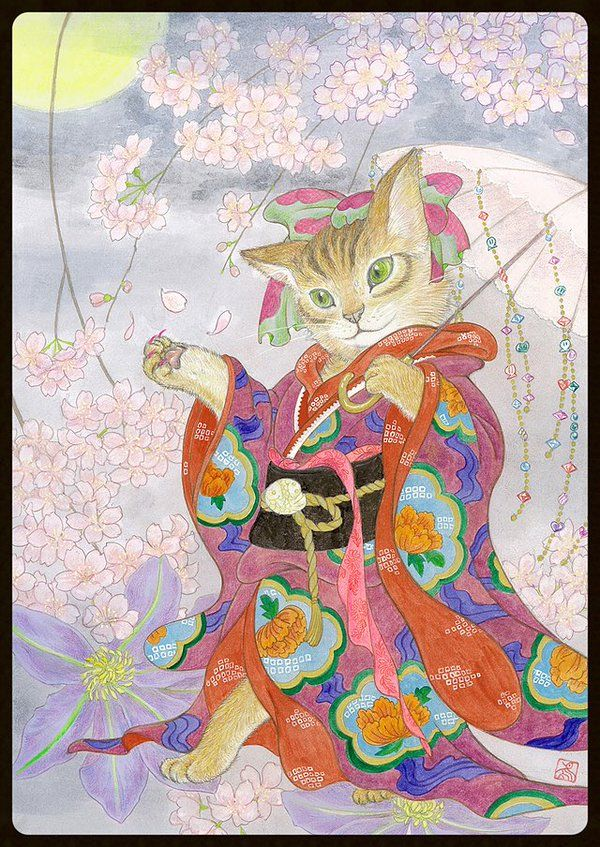 Cat Art Show LA @CatArtShowLA New for @CatArtShowLA from Japanese artist Midori Furuhashi. See it IRL March 24 in LA.