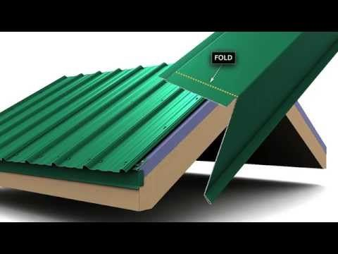 Great How To Install Metal Roof Rake Trim For Unionu0027s MasterRib Panel.   YouTube