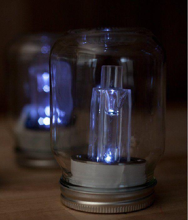 Photo of Dollar Store Crafts   How to Make Mason Jar Solar Lights DIYReady.com   Easy DIY…