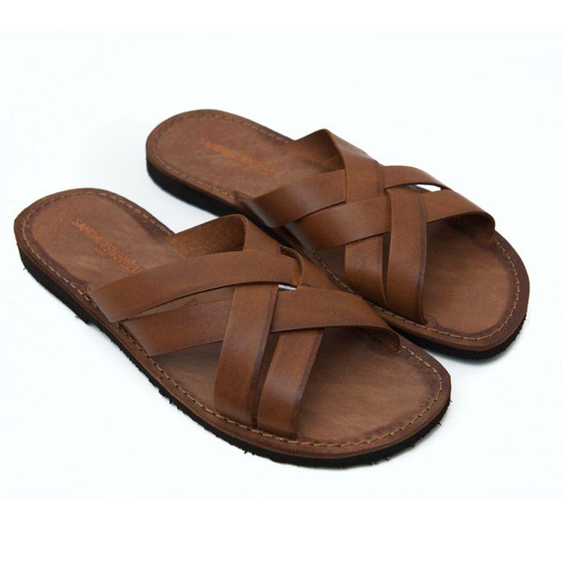 Sandalo indiano marrone da uomo Tienda De Venta De Liquidación oTJLhz2eqU