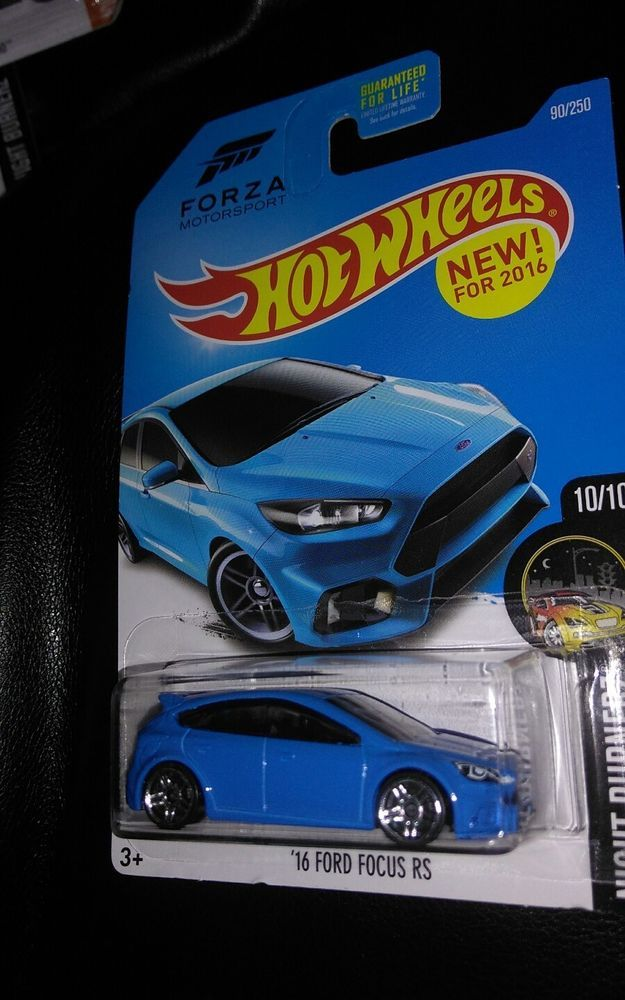 2015 Hot Wheels Night Burnerz Forza 16 Ford Focus Rs Diecast Car 1 64 3 Hotwheels Ford Hot Wheels Diecast Cars Toy Collection