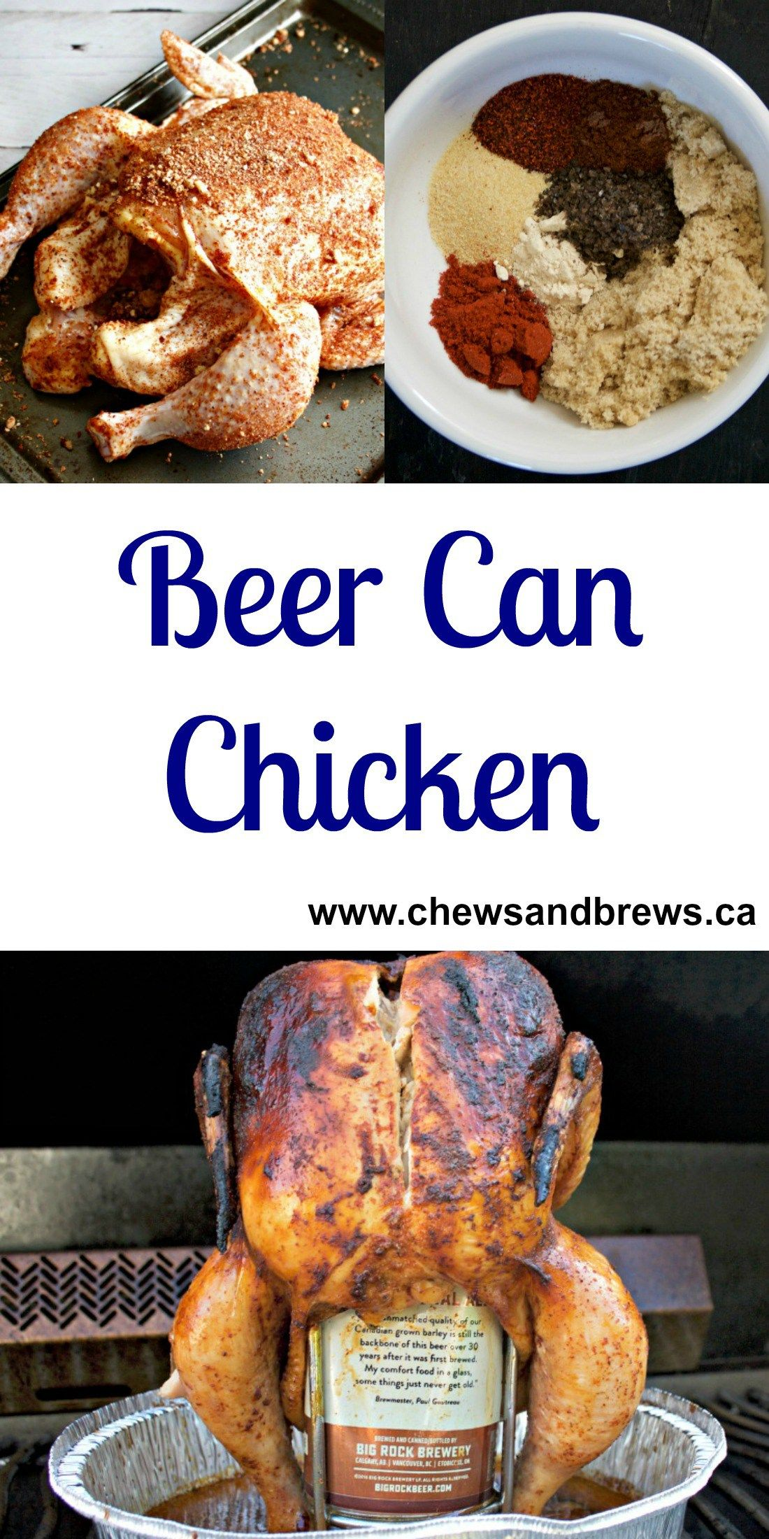 Beer can chicken recipe canned chicken beer can