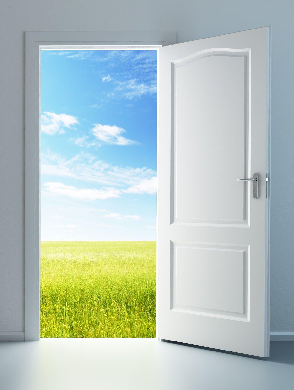 Картинки дверь открыта