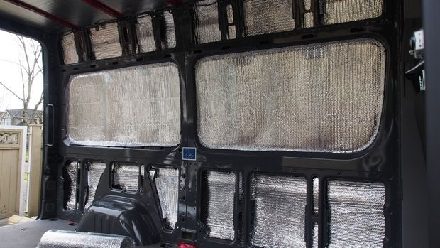 How To Insulate A Camper Van Bubble Wrap And Vans