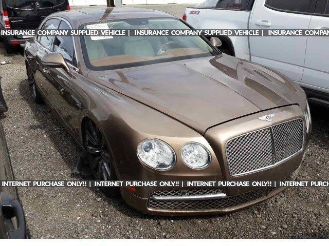 Salvage 2014 Bentley Flying Spur Sedan For Sale Salvage Title