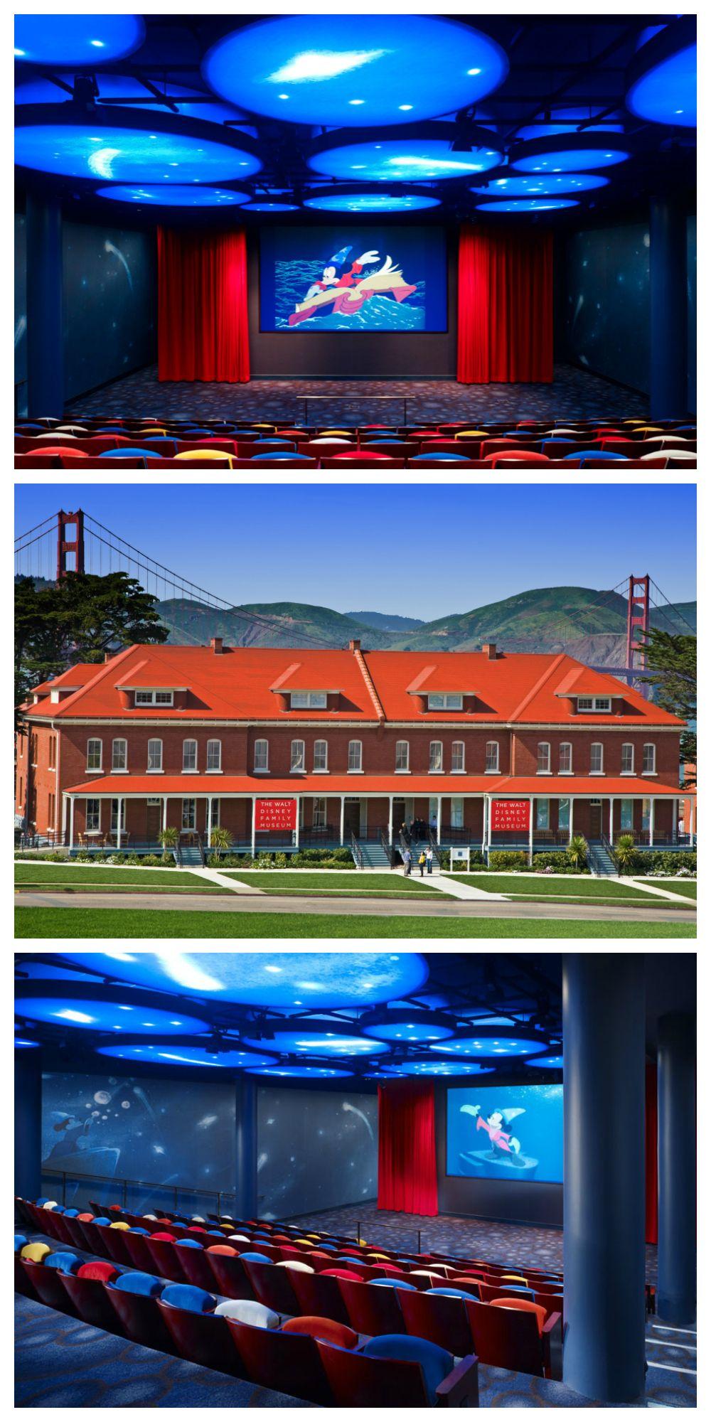 Located In The Presidio Of San Francisco The Walt Disney Family