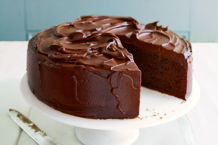 The ultimate chocolate mud cake Baking Recipes Pinterest