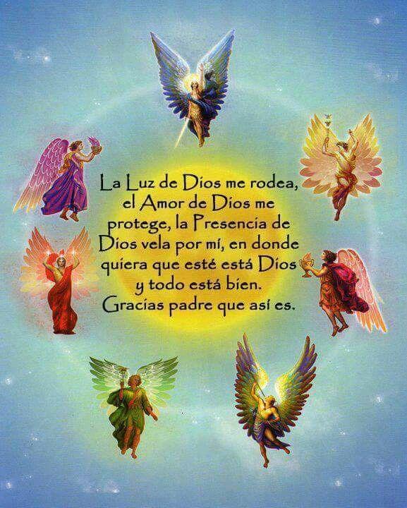 Gracias Padre Que Así Es Imágenes De ángeles Oracion De Los Angeles ángeles Y Hadas