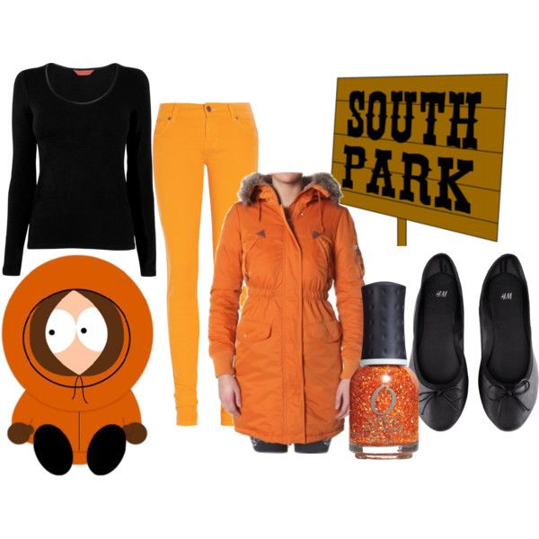Set inspired by South Park's Kenny!