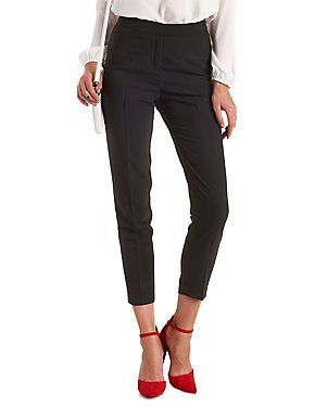 Tapered High-Waisted Pants