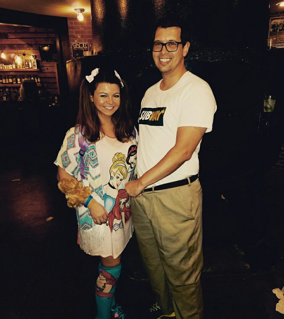 Offensive Halloween 2020 Ideas Subway Jared couple's costume offensive | Couples costumes