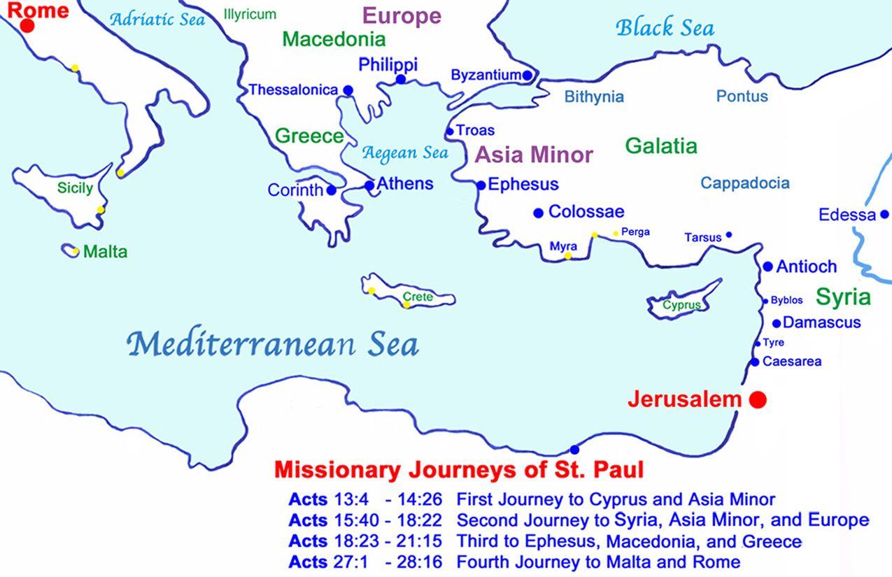 Judea Map Africa