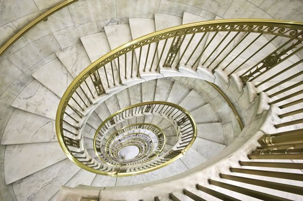 One Of The 2 Self Supporting Spiral Staircases In The Supreme   Self Supporting Spiral Staircase   Staircase Design   London Uk   Stair Case   Santa Fe   Risers