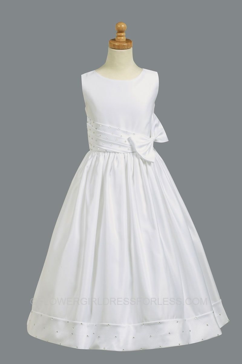 a6838d9696 L SP961 SALE - First Holy Communion Flower Girl Style SP961 SALE- Size 8 or  16x - First Communion Dresses - Flower Girl Dress For Less