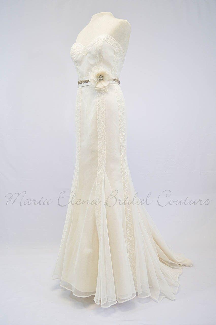 Pin lisääjältä romantic creations couture bridal by maria elena