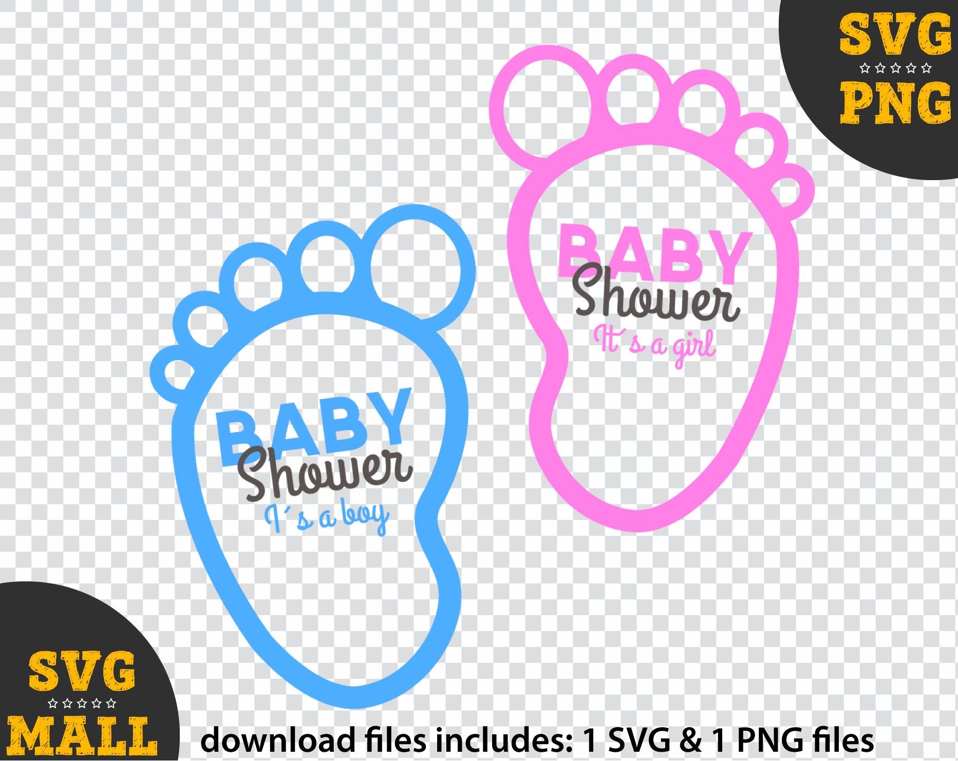 Twins Children Svg - Baby Shower Svg - Svg For