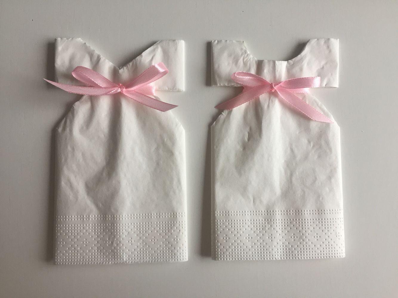 servietter barnedåb