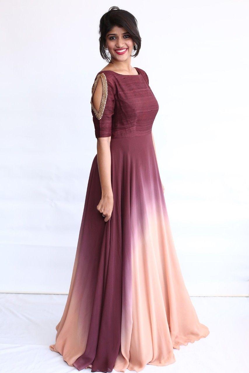 Indian Maxi Dresses For Weddings Saddha