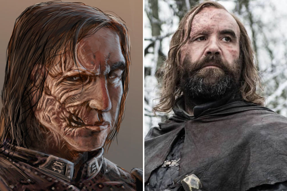How Game Of Thrones Characters Should Have Looked According To The Books Popular Everything Bronn Game Of Thrones Ramsay Bolton Jaime Lannister