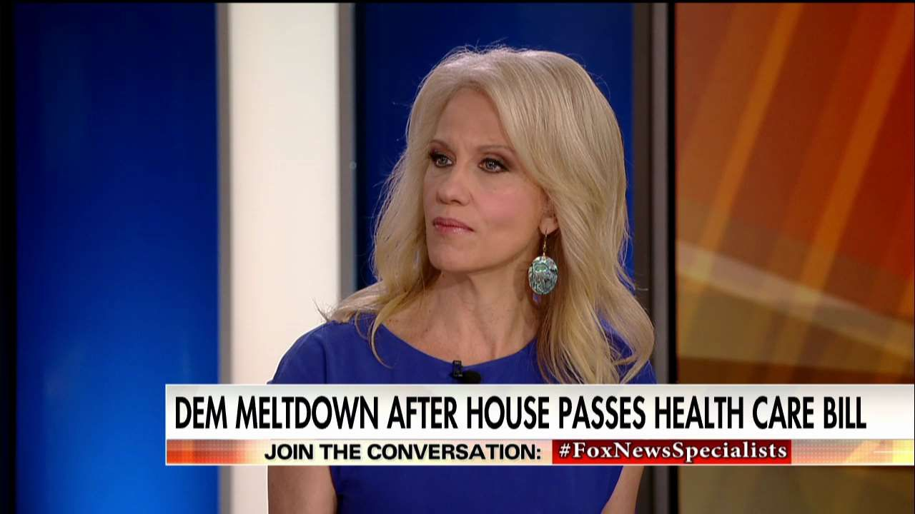 Conway: Democrats Trying to 'Scare People' About AHCA