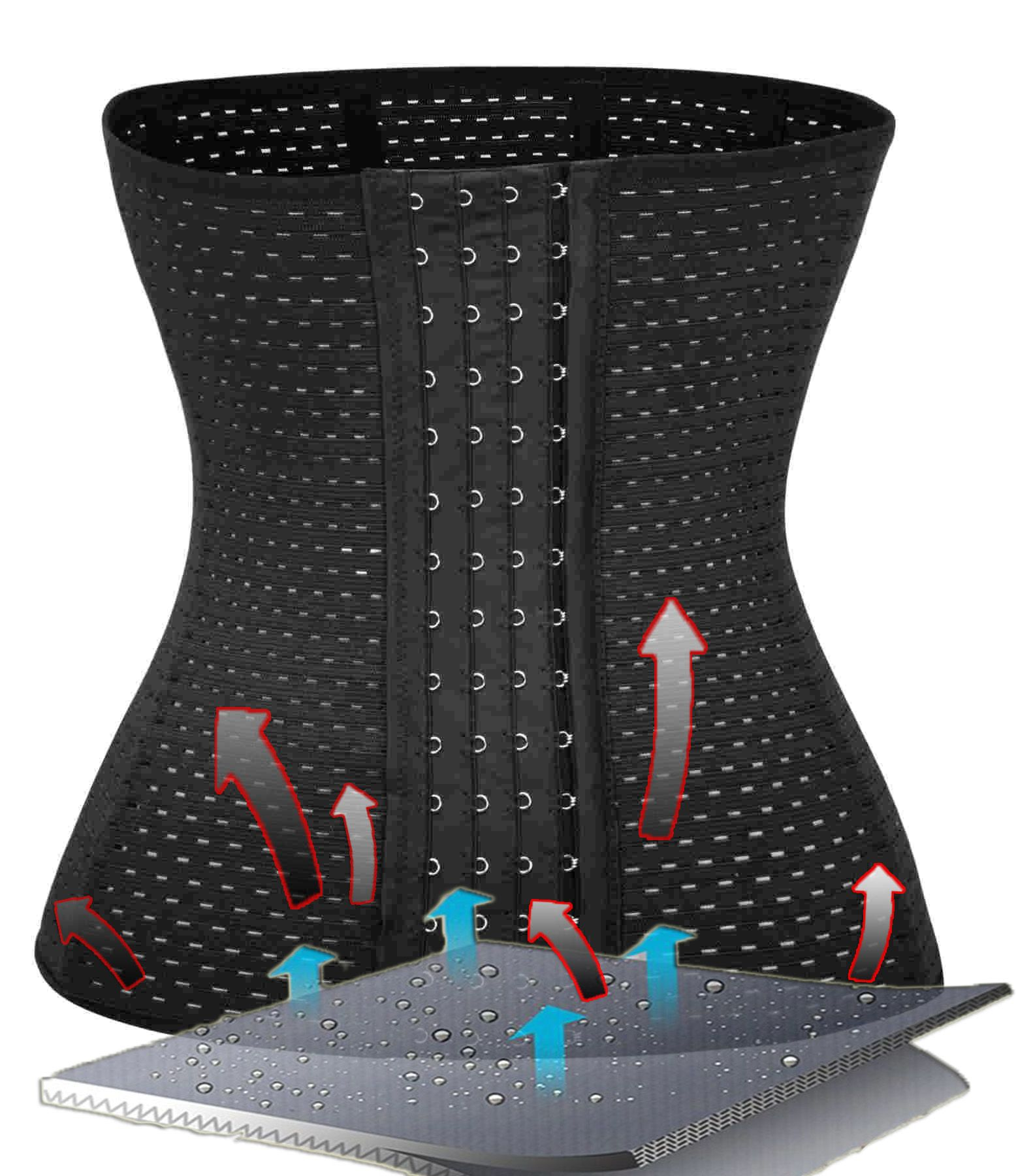 c3a01f8e670 Mesh Waist trainer Invisible Shaping Lower Abdomen Trimming Enhances  Hourglass Silhouette Eliminates love handles and muffin top Slims