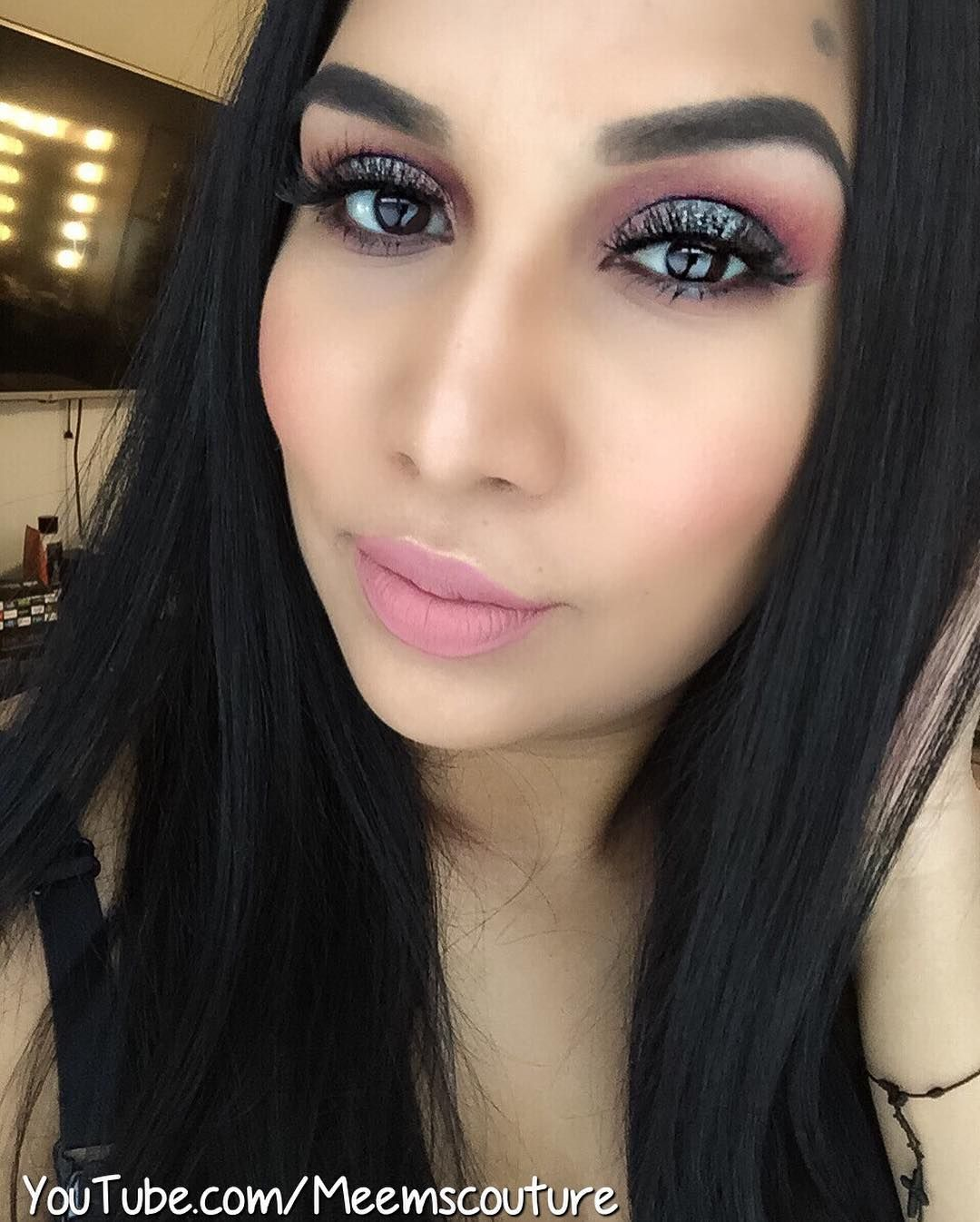 Today full face makeup using mannymua733 and