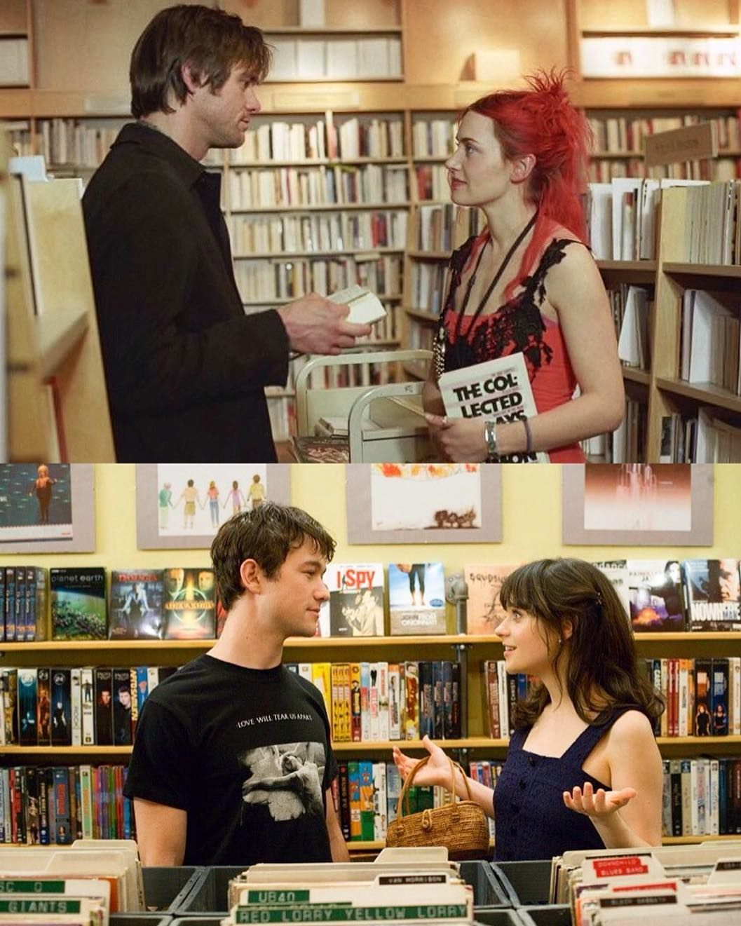 Eternal Sunshine Of The Spotless Mind 500 Days Of Summer Dengan