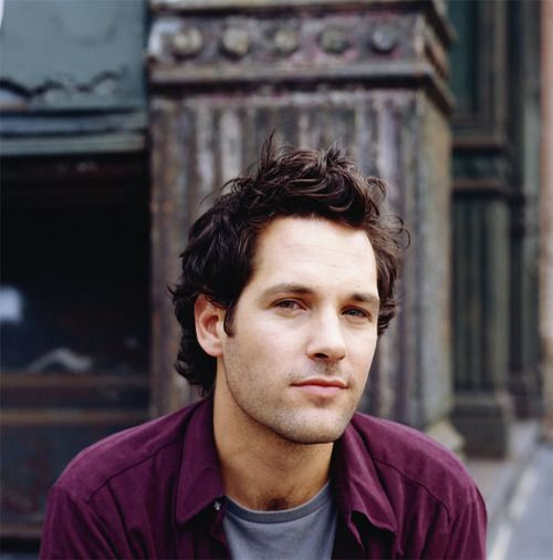 Paul Rudd, can you believe i got to see him in a speedo when i was in high school, ahhhh......